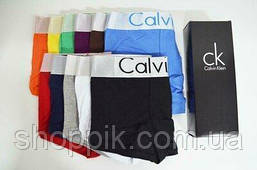 Мужские трусы Calvin Klein Steel 5 штук  в фирменных упаковке | Набор трусов | Реплика, фото 2