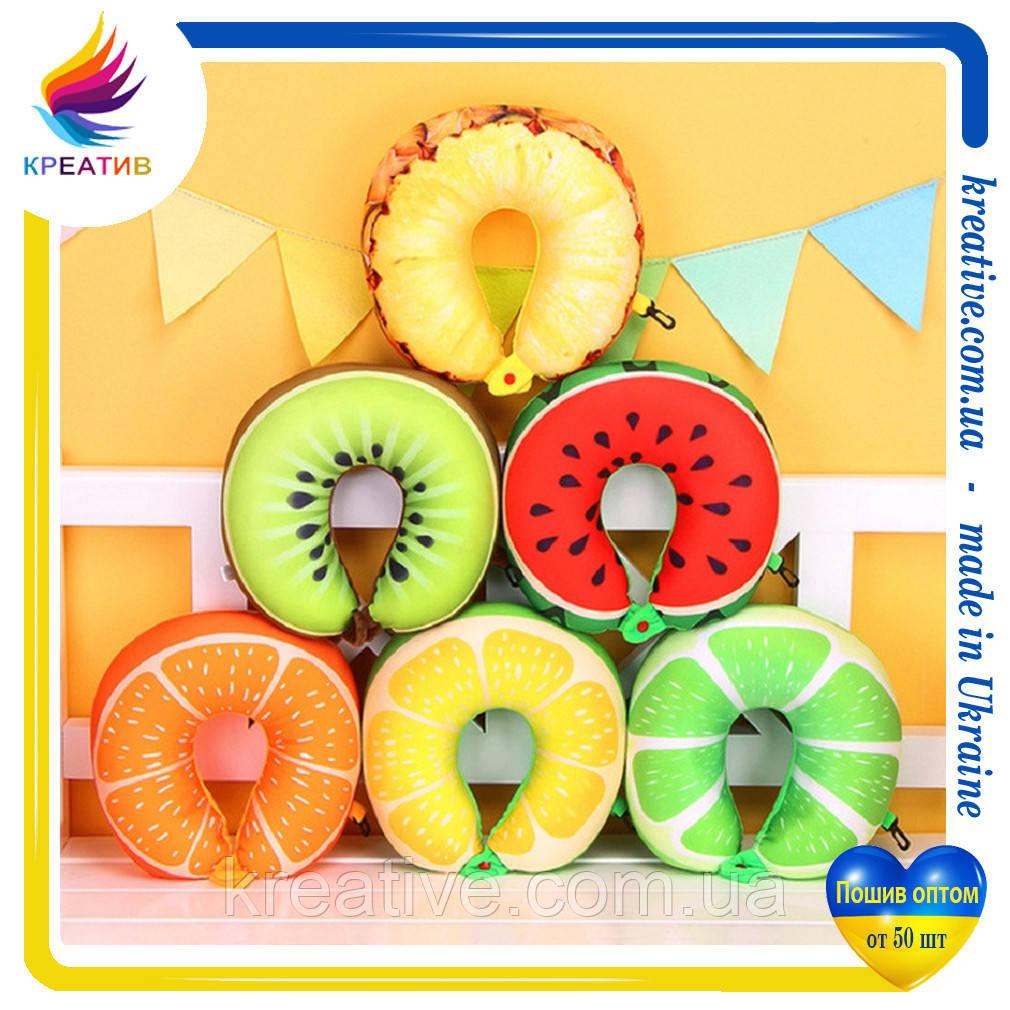 Подушки игрушки фрукты под заказ (от 50 шт.)
