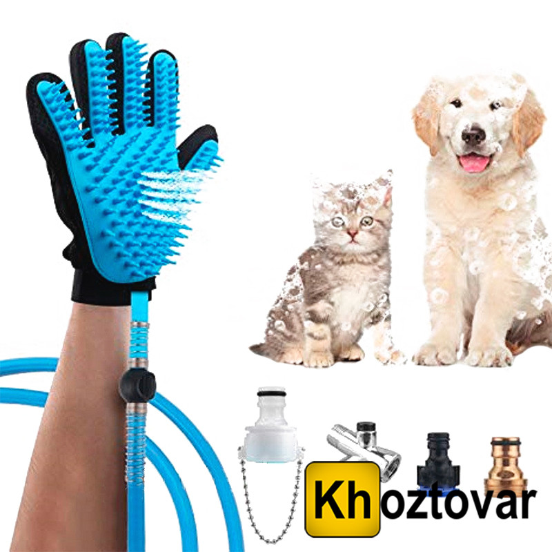 Рукавиця для миття тварин Pet Washer