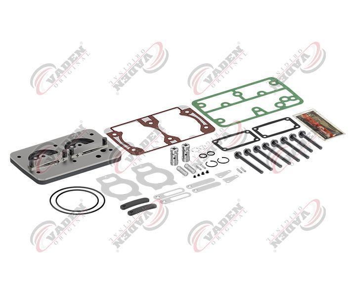 Ремкомплект компрессора (клапана + прокладки+уплотнения+ болты)