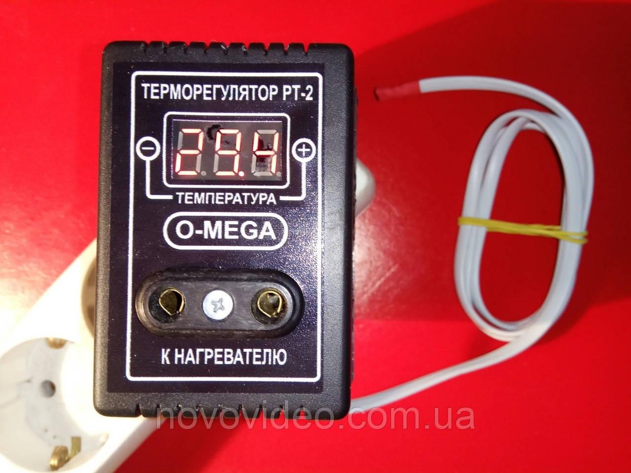 Электронный терморегулятор ТР-2 в инкубатор под розетку