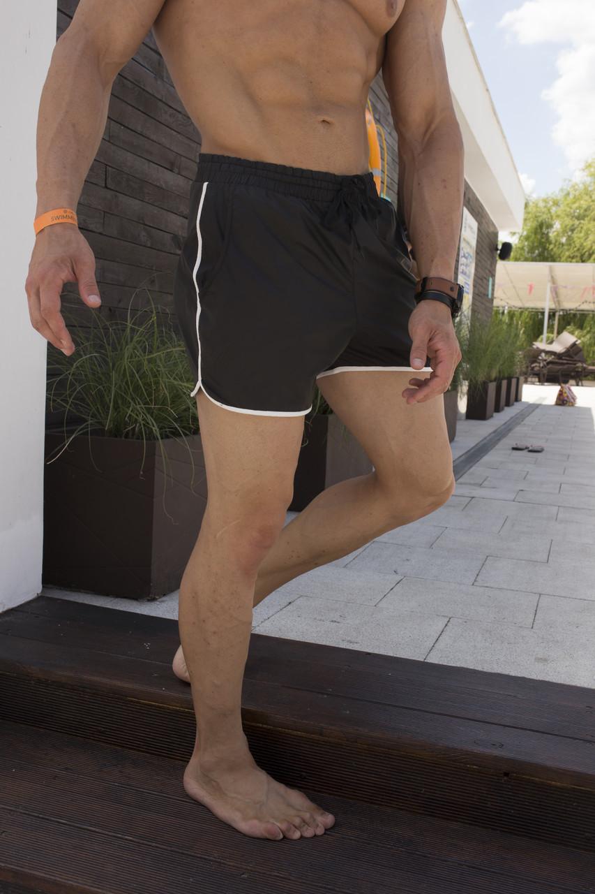 Плавки мужские черного цвета  модель Кайдзю размеры S M L XL XXL XXXL от бренда ТУР, фото 1