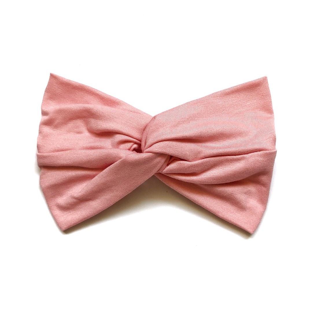 Повязка широкая для девочки 1-4 года Andriana Kids розовая