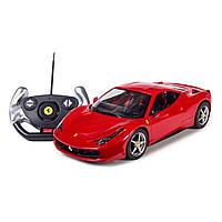 Машинка радиоуправляемая Rastar Ferrari 458 Italia 1:14 красная  47300