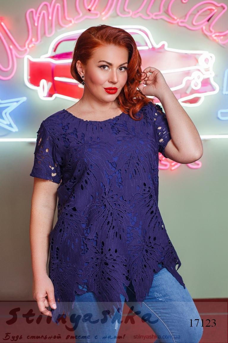 женская блузка большого размера