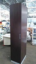 Шкаф пенал для одежды коричневый
