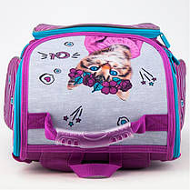 Набор первоклассника для девочки Рюкзак, сумка для обуви, пенал Kite Rachael Hale 500, фото 3