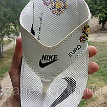 Распродажа Летние белые тапки-вьетнамки Nike, сланцы Nike домашние тапочки Nike, фото 2