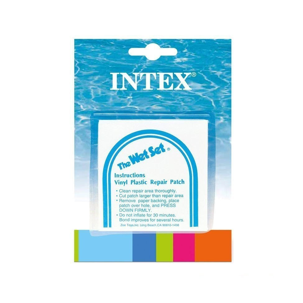 Самоклейки Intex. Размер 7х7 см, 6 шт.  (59631)