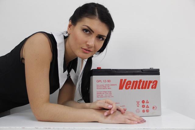 Аккумулятор Ventura VG 12-75 корпус