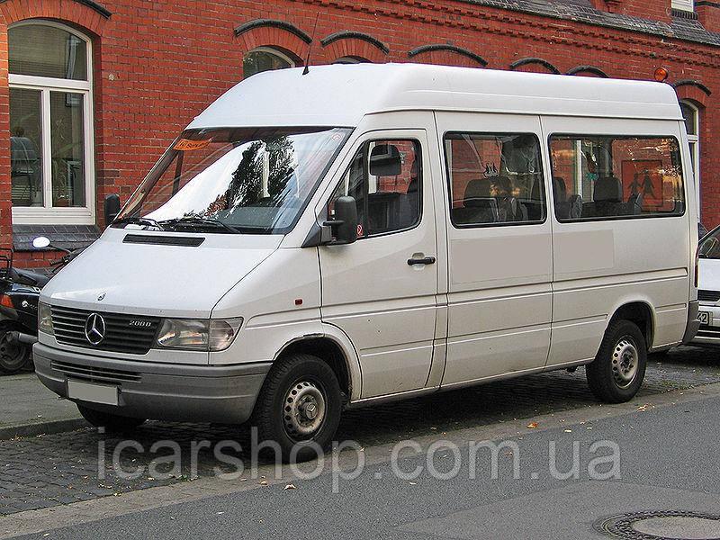 Стекло M. Sprinter I / VW. LT 35 95-06 L1 / L2 / L3 переднее салона левое SG