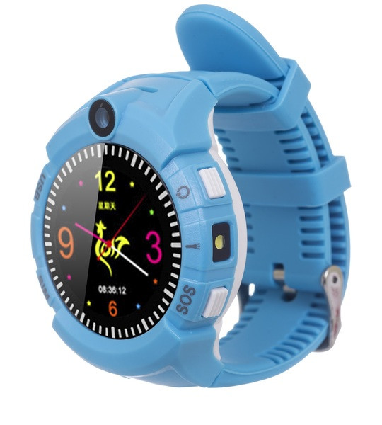 Детские часы с GPS трекером ERGO GPS Tracker Color C010 Blue