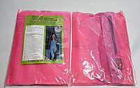 Антимоскитная сетка (штора) на магнитах для двери от насекомых 100Х210см (розовая с рисунком)