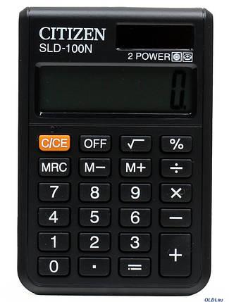 Портативный калькулятор CITIZEN 100/100N, фото 2