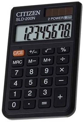 Портативный калькулятор CITIZEN 200/200N, фото 2