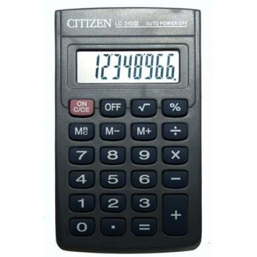 Портативный калькулятор CITIZEN 310