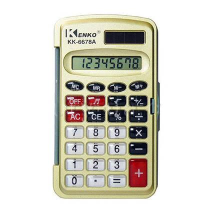 Портативный калькулятор Kenko 6678/6677 А, фото 2