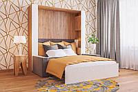 Спальный гарнитур с Шкаф-кроватью двухспальной и диваном