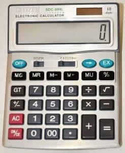 Калькулятор CITIZEN 999, фото 2
