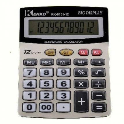 Калькулятор Kenko 8151, фото 2