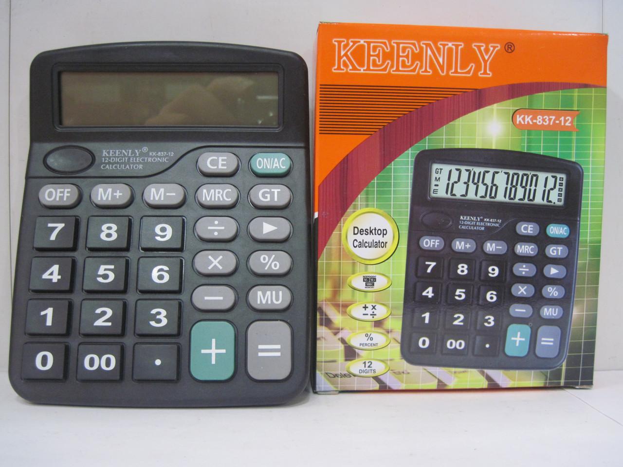 Калькулятор K 837-12