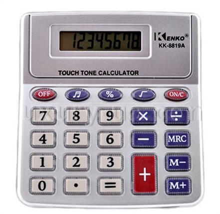 Калькулятор Kenko К 8819А/268, фото 2