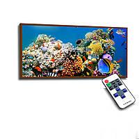 Лед картина Кораллы 73х33см