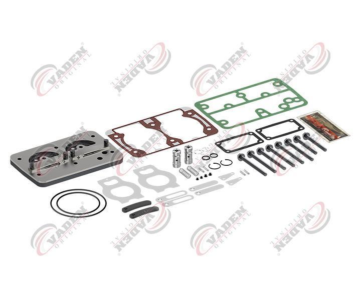 Ремкомплект компрессора VOLVO, (болты+плита+прокладки+клапана) KN LP4974, LP4930