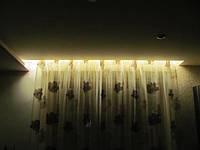 Закарнизная светодиодная подсветка (подсветка штор) светодиодной лентой, фото 1