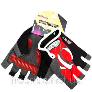 Рукавички Вело безпалі Pearl Izumi (SPORT) червоні