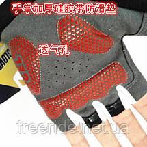 Вело перчатки беспалые Pearl Izumi (SPORT) красные, фото 2