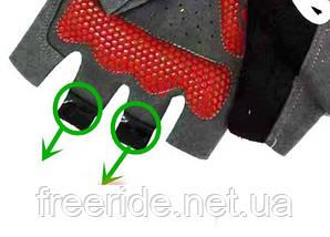 Вело перчатки беспалые Pearl Izumi (SPORT) красные, фото 3