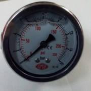 Манометр давления смесителя 16 бар