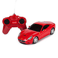 Машинка радиоуправляемая Rastar Ferrari California 1:24 красная  46500