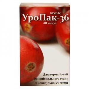 """БАД для почек """" Уропак-36 """" (капсулы 30 шт,Украина )"""