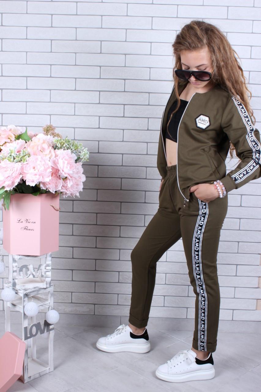 Спортивный костюм для девочки AMD р.134-164 опт