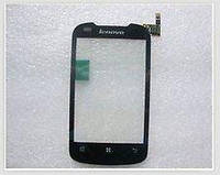 Сенсор (тачскрин) стекло для смартфона Lenovo A300t black