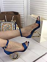 Потрясающие женские сандалии Dolce&Gabbana Keira (реплика), фото 1