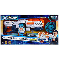 Zuru X-Shot Швидкострільний бластер Excel Turbo Advance 40-Dart Capacity Barrel