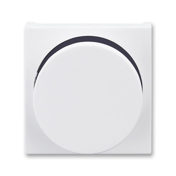 Диммер поворотный для LED-ламп от 2 Вт до 400 Вт белый/дымчатый черный, Levit Elektro-Praga ABB