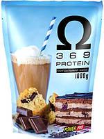 Протеин Power Pro OMEGA 3-6-9 Protein 1 кг Миндальный кекс