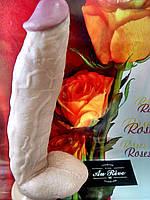 Гигантский  фаллос на присоске 31 см диаметр 6 см