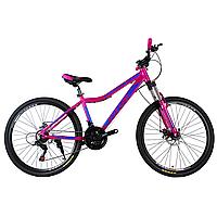 """Алюминиевый горный женский велосипед 26"""" TITAN MILANO (21 speed, Lockout, Shimano)"""