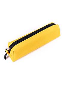 Пенал Surikat Rondo разные цвета 5,5х6,5х23 см. Желтый