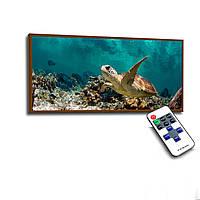 Лед картина Черепаха в океане 73х33см