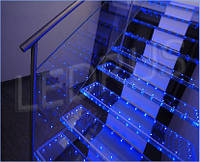 Светодиодная подсветка ступеней, плинтусов и лестниц