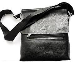 Мужская сумка-мессенджер Jeep 866 Bags черная