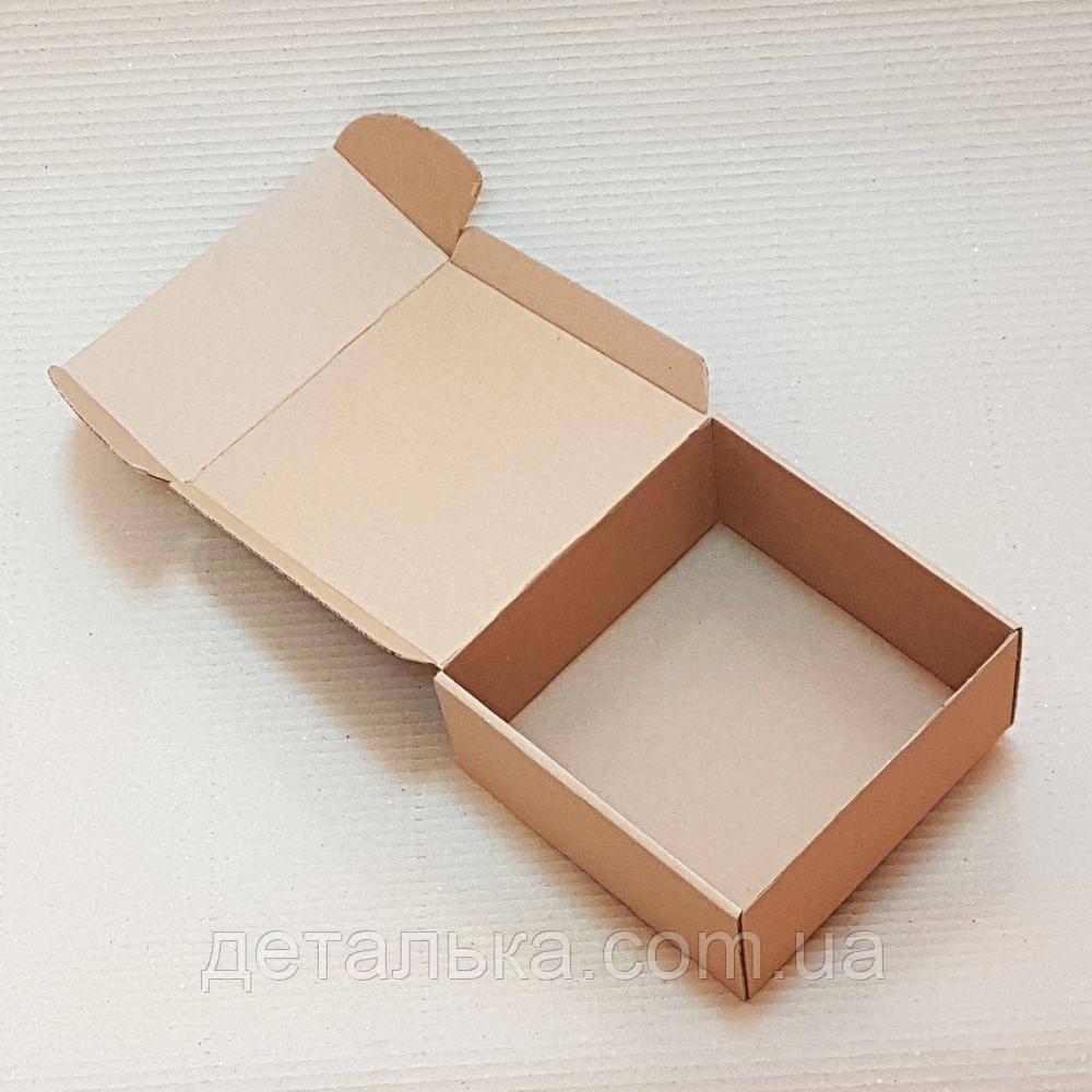 Самосборные картонные коробки 125*125*50 мм.