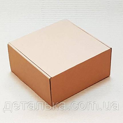Самосборные картонные коробки 125*125*50 мм., фото 2