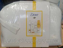 Dove Elegant Beauty подарочный набор 5 предметов + косметичка